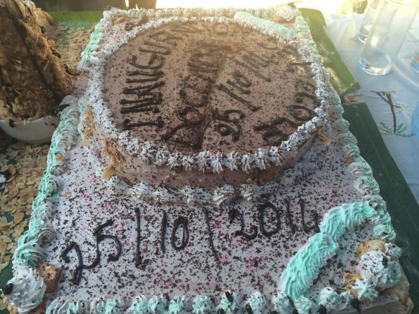 Gâteau d'inauguration