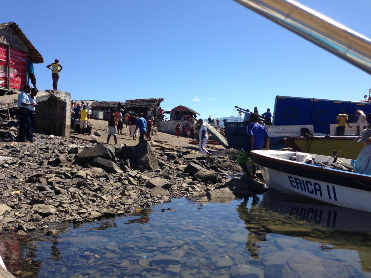 Au port d'Ankify