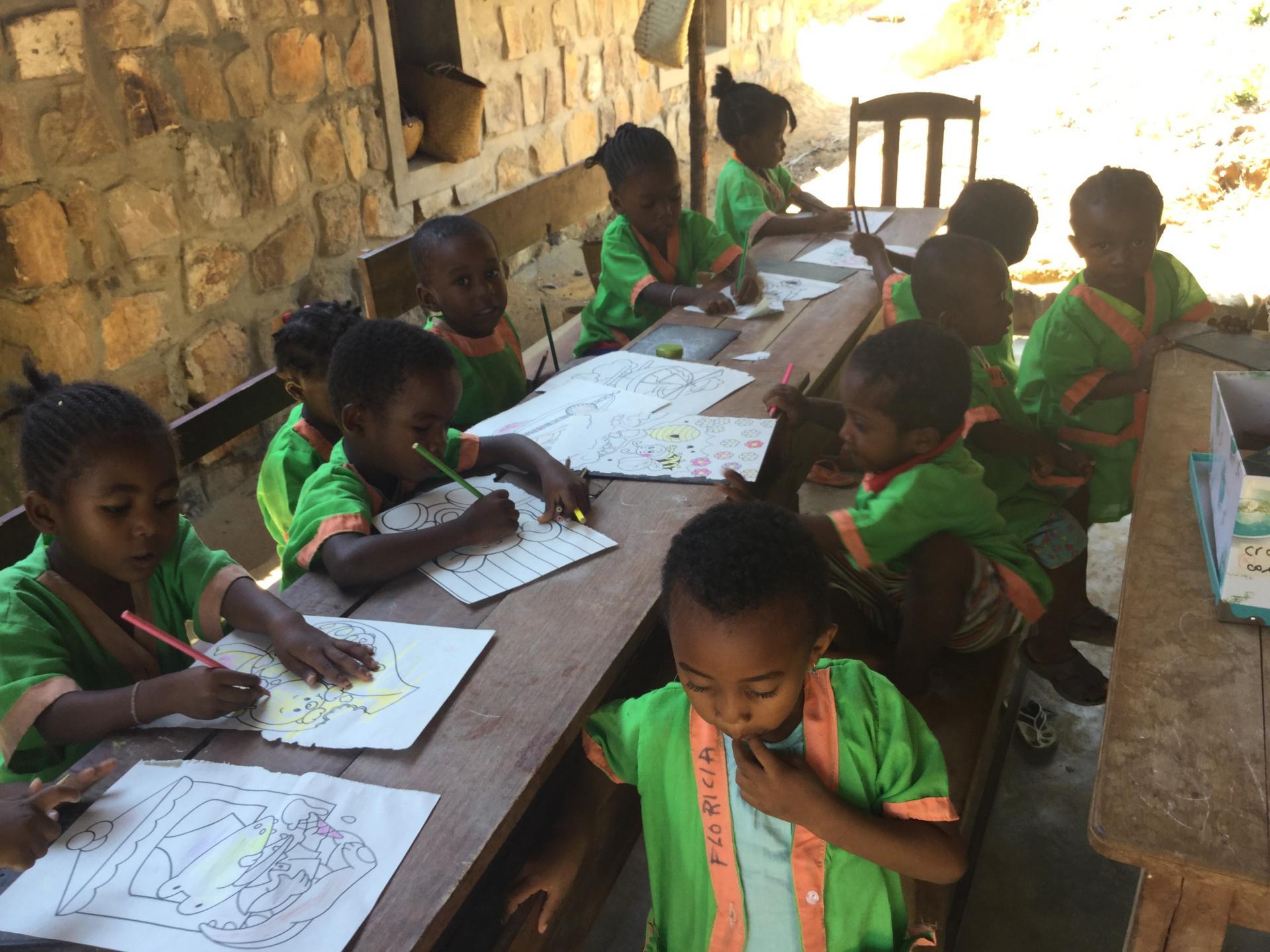 Une nouvelle classe de maternelle