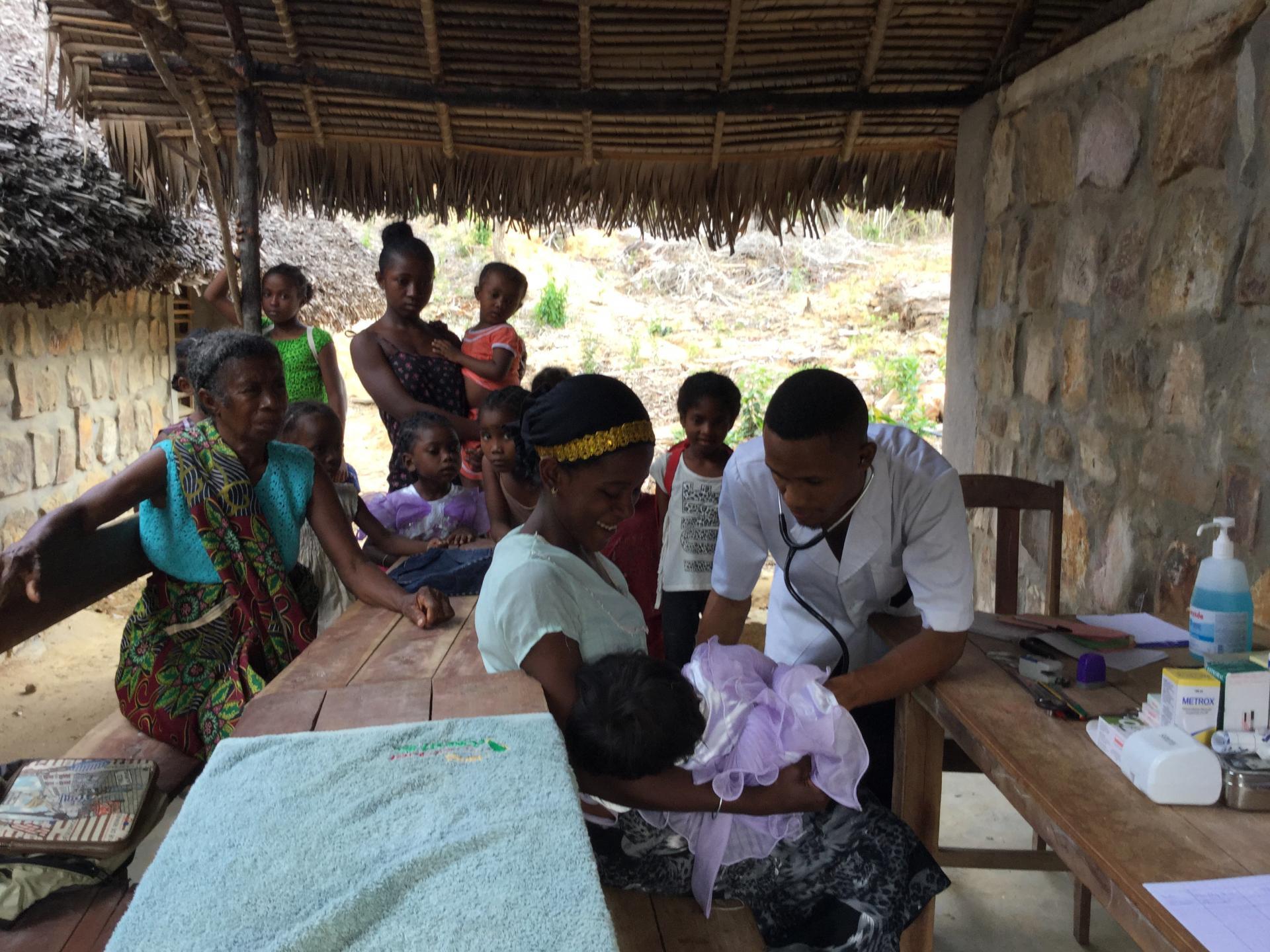 Une première visite médicale pour nos élèves