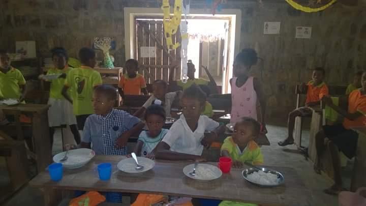 Repas gratuit à l'école