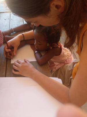Une de nos bénévoles Pamep