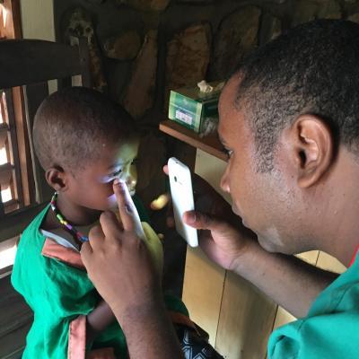 Visite du Dr Michael de Ambanja